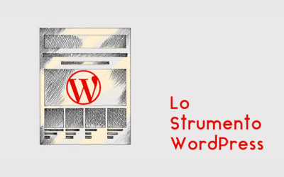 Lo Strumento WordPress