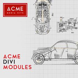 Acme Divi Modules - WordPress Plugin by Acme Media Kits